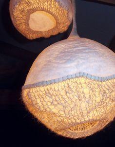 felted lamp LC LGHT FLT