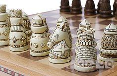Шахматы + Шашки — Винтажные