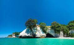Cathedral Cove. New Zealand. Located on the Coromandel Peninsula region of New Zealand to the east of Auckland.