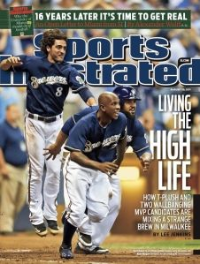 The 2011 Brewers graced the cover of the August 29 SI