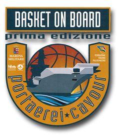 Trasformare la portaerei Cavour in un campo di basket in occasione della partita che si terrà presso la base navale di Taranto tra le nazionali under 18 di basket di Italia e Svezia.