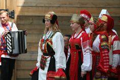 """Русский народный костюм. """"...красиво и радостно..."""""""