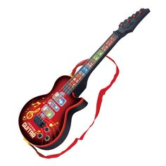Hiqh Quality 4 Strings Music Electric Guitar Kids Musical Instruments Educational Toys For Children juguetes As New Year Gift #>=#>=#>=#>=#> Click on the pin to check out discount price, color, size, shipping, etc. Save and like it!