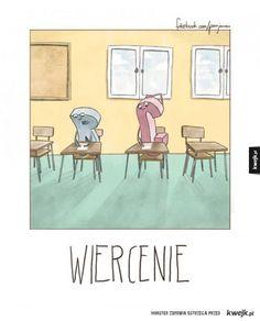 Alfabet według Jarońskiego Polish Memes, Funny Comics, Haha, Gallery Wall, Jokes, Teak, Humor, Cool Stuff, Universe