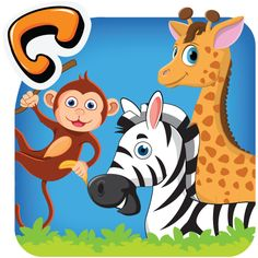 A nice picture-dictionary that uses the concept of phonics together with an interactive, themed interface for teaching children the names of animals in English and Hindi. 'Animal Pictionary' is available at Google Play Store.