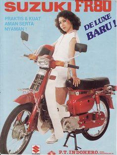 Suzuki FR 80, Indonesien