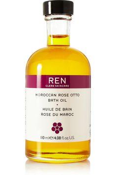 Ren Skincare|Moroccan Rose Otto Bath Oil, 110ml|NET-A-PORTER.COM