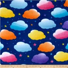 Simply Clouds Navy