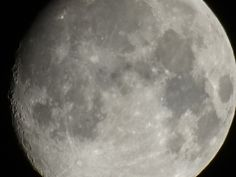 Large Moon Over New Jersey Tonight.