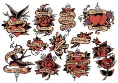 ideas tattoo old school mom dad sailor jerry Retro Tattoos, Trendy Tattoos, Cute Small Tattoos, Small Wrist Tattoos, Tattoos For Women Small, Tattoo Small, Dad Tattoos, Rose Tattoos, Peacock Tattoo Sleeve