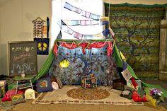 Soul-Flower Blog: Build an indoor fort for the kids!