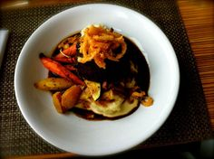 hostess of the humble bungalow: Indulging in fabulous food...and more.