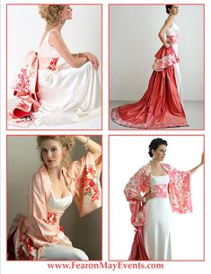 Fearon May Events: Asian Inspired Wedding Gowns