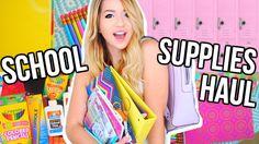 Back to School: Supplies Haul + Organization Tips!