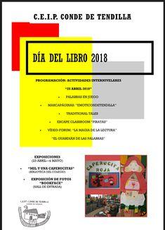 Programa de actividades presentado por el CEIP Conde de Tedilla