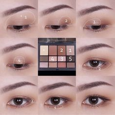 What is Makeup ? What is Makeup ? Korean Makeup Tips, Asian Eye Makeup, Korean Makeup Tutorials, Natural Eye Makeup, Natural Beauty, Learn Makeup, Japanese Makeup, Manicure Y Pedicure, Kiss Makeup