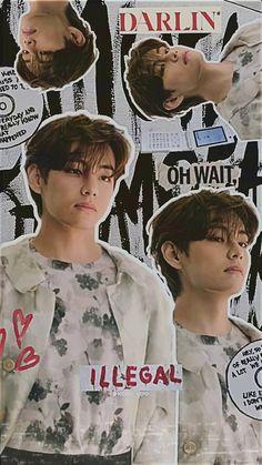 Whatsapp Wallpaper, Bts Wallpaper, Foto Bts, Bts Photo, Bts Poster, Kpop Posters, Movie Posters, Bts Aesthetic Pictures, V Taehyung