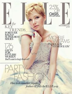 Behind the cover: Michelle Williams Michelle Williams has become needier since portraying Marilyn Monroe in new movie My Week with Marilyn. Michelle Williams has become needier since portraying Marilyn Monroe. The actress - who portrays… Michelle Williams, Maisie Williams, Heath Ledger, Elle Shoes, Elle Magazine, Magazine Covers, Interview, Celebrity Magazines, Fashion Magazines