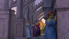 Cameron Diaz, Larry King, Cheri Oteri, Amy Poehler, and Amy Sedaris in Shrek the Third Cheri Oteri, Princesa Fiona, Maya Rudolph, Pencil Test, Bee Movie, Eddie Murphy, Dreamworks Animation, Kung Fu Panda, Cameron Diaz