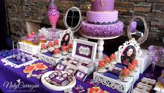 Descendants.Maleficent's daugther Birthday Party Ideas | Photo 6 of 15 | Catch My Party