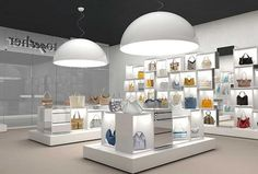 Together store, a multibrand concept by Braccialini with Gherardini, Francesco Bisia and Amazonlife
