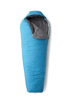 A cozy, durable, and lightweight sleeping bag for the avid camper or backpacker to curl up in.  BUY IT: $100; rei.com.