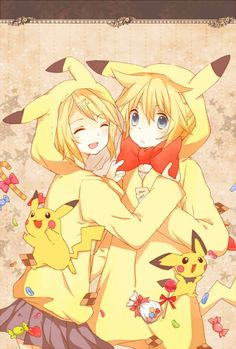 Rin and Pikachu! The fandom has been doubled! (And tripled :D)