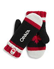 Canada 2015 Olympic Mittens! Red Mittens, Christmas Gifts For Kids, Olympics, Gloves, Youth, Canada, True North, Strong, Collections