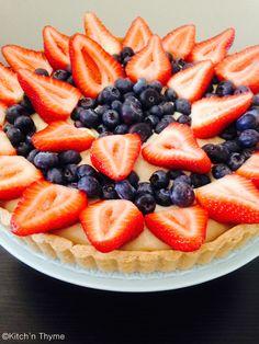 Berry-delicious Custard Tart