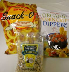 """Here we have pseudo onion rings, vegan Fritos, and this delicious new find - coconut cashews! What's your favorite Trader Joe's """"accidentally vegan"""" treat?"""