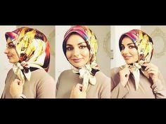 YouTube Tutorial Hijab Segi 4, Square Hijab Tutorial, Head Wraps, Hijab Fashion, Youtube, Videos, Womens Fashion, Model, Hijabs