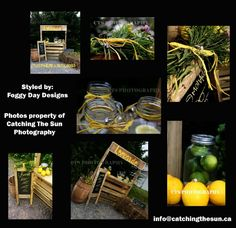 Lemonade Stand Photo shoot