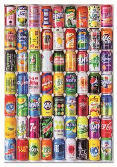Puzzle Soft cans Educa 500 Thick Cardboard, Ipa, 500 Piece Jigsaw Puzzles, Coca Cola, Canning, Products, Educational Games, Family Games, Puzzle Pieces
