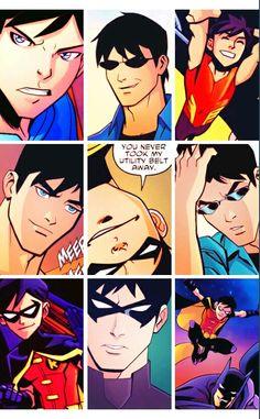 Dick Grayson - Robin & Nightwing #DC