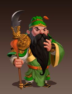 Guan Yu by AnggaSatriohadi on @DeviantArt