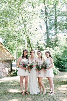 Photography: Youri Claessens - www.fotograafbruiloften.nl  Read More: http://www.stylemepretty.com/destination-weddings/2014/10/28/boho-chic-netherlands-wedding-at-het-reirinck/