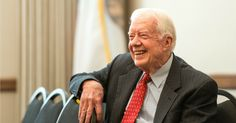 """""""I think eventually we'll have a single-payer system,"""" said former President Jimmy Carter."""