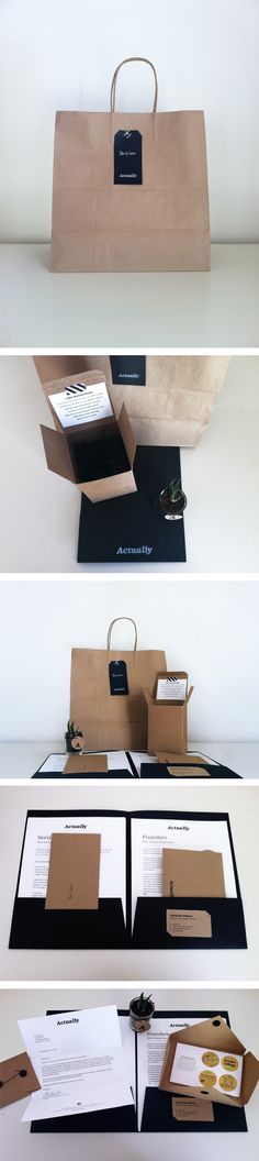 Actually's Branding Package.