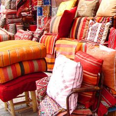 Moroccan Cushions | Laura Maxwell Photographic Imagery