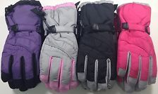 Ladies Waterproof Snowboard Ski Snow Gloves Waterproof Insulated NWT #65226