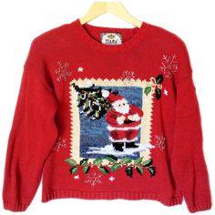 Photo of Santa Tacky Ugly Christmas Sweater
