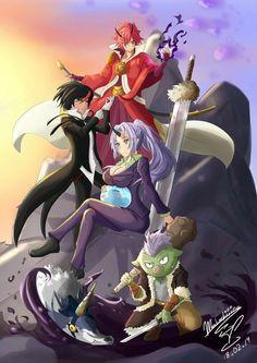 Cool Anime Wallpapers, Cute Anime Wallpaper, Animes Wallpapers, Anime Chibi, Kawaii Anime, Manga Anime, Anime Art, Slime Season 2, Adashino Benio