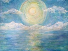 Soul shine, acrylic painting Cheryl Crane, Soul Shine, Waves, Artwork, House, Painting, Outdoor, Ideas, Outdoors