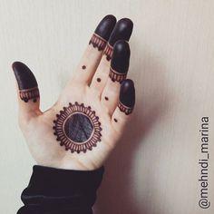 Nice n simple Mehndi design Henna Hand Designs, Mehndi Designs Finger, Palm Mehndi Design, Mehndi Designs For Beginners, Mehndi Design Photos, Mehndi Designs For Fingers, Henna Tattoo Designs, Mehandi Designs Easy, Tribal Henna Designs
