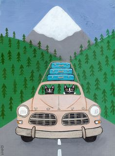 Volvo Road Trip by Ryan Conners