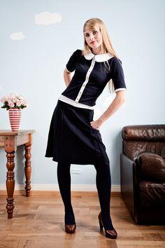 jersey kleider on pinterest 20 pins. Black Bedroom Furniture Sets. Home Design Ideas
