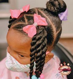 Black Baby Girl Hairstyles, Little Girls Natural Hairstyles, Cute Toddler Hairstyles, Girly Hairstyles, Kids Curly Hairstyles, Princess Hairstyles, Black Children Hairstyles, Hairstyles For Toddlers, African American Girl Hairstyles