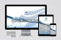 Visite: www.aquatal.pt   Novo Web Site !!!! Web Design, Design Web, Website Designs, Site Design