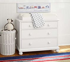 Catalina Dresser & Changing Table Topper Collection   Pottery Barn Kids