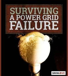 Power Grid Failure: Will You Survive? | SHTF Preparedness Tips and Guide by Survival Life http://survivallife.com/2015/01/14/power-grid-failure-will-you-survive/